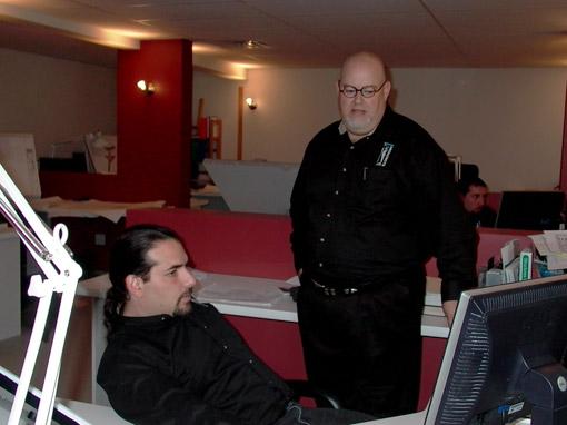 Hector & Stu at work.jpg