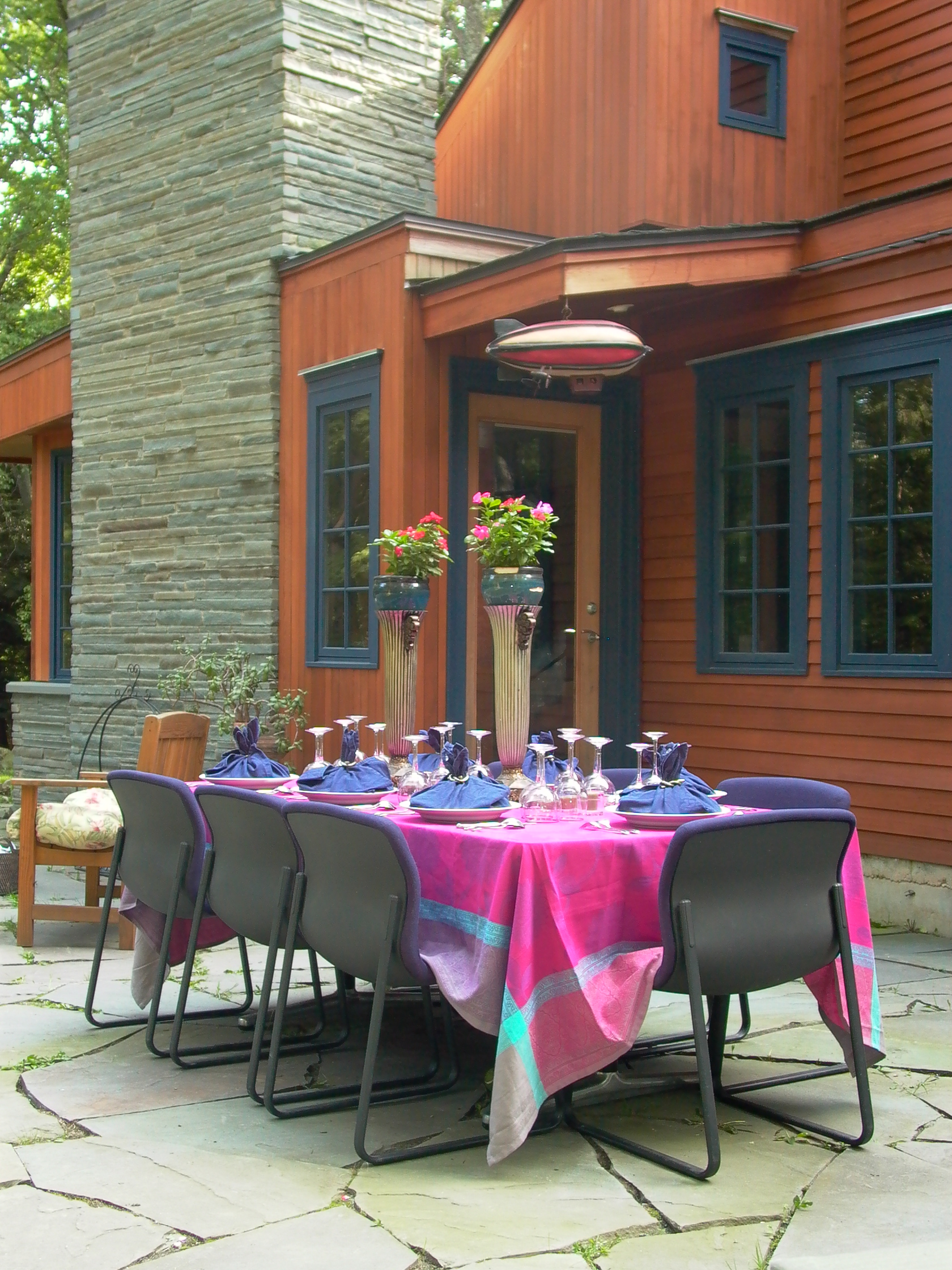 Oaknell dinner on the patio house background.JPG