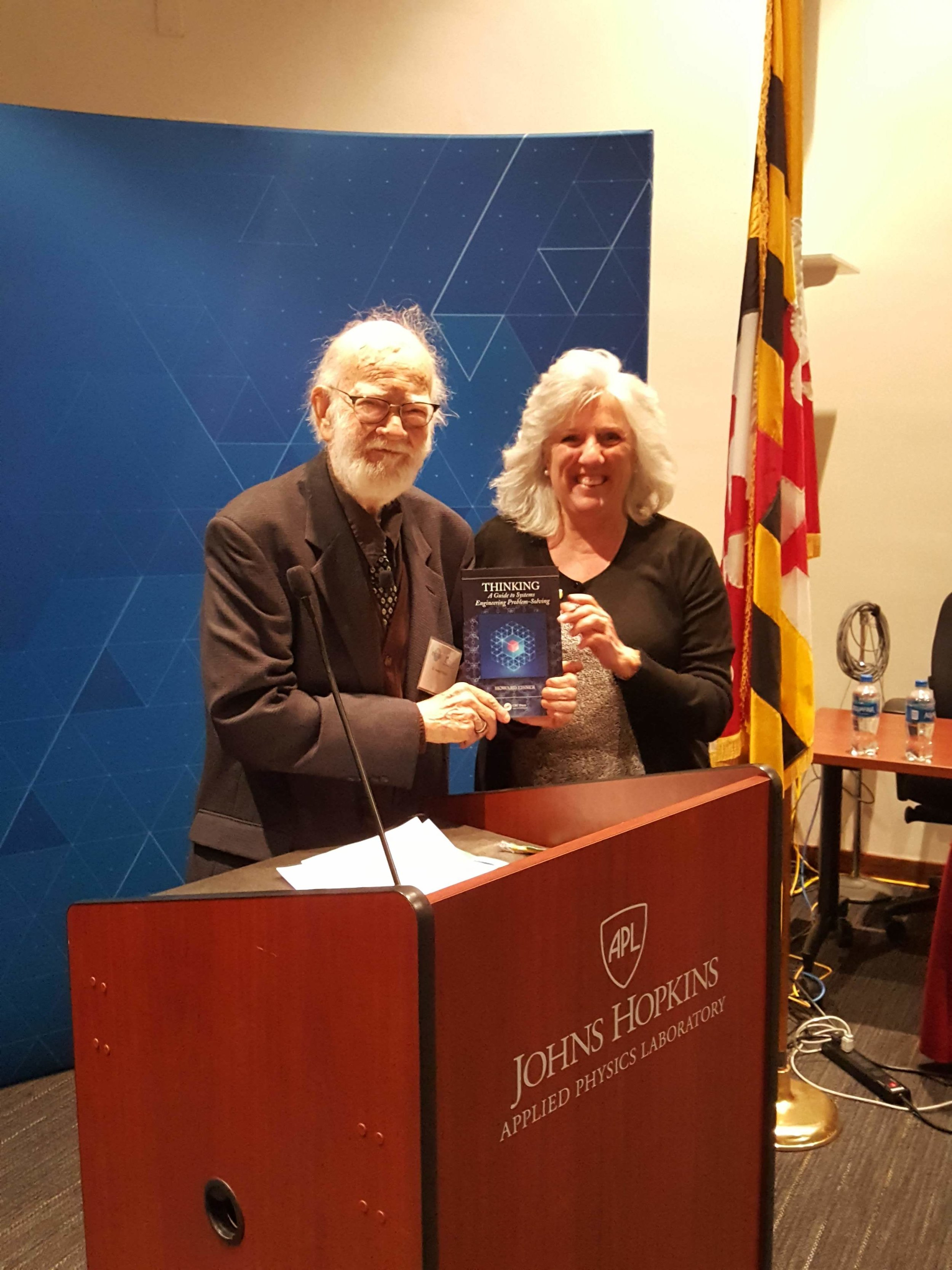 Ellie Gianni, ESEP, and Past Chapter President, won Dr. Eisner's new book:  Thinking: A Guide to Systems Engineering Problem-Solving.