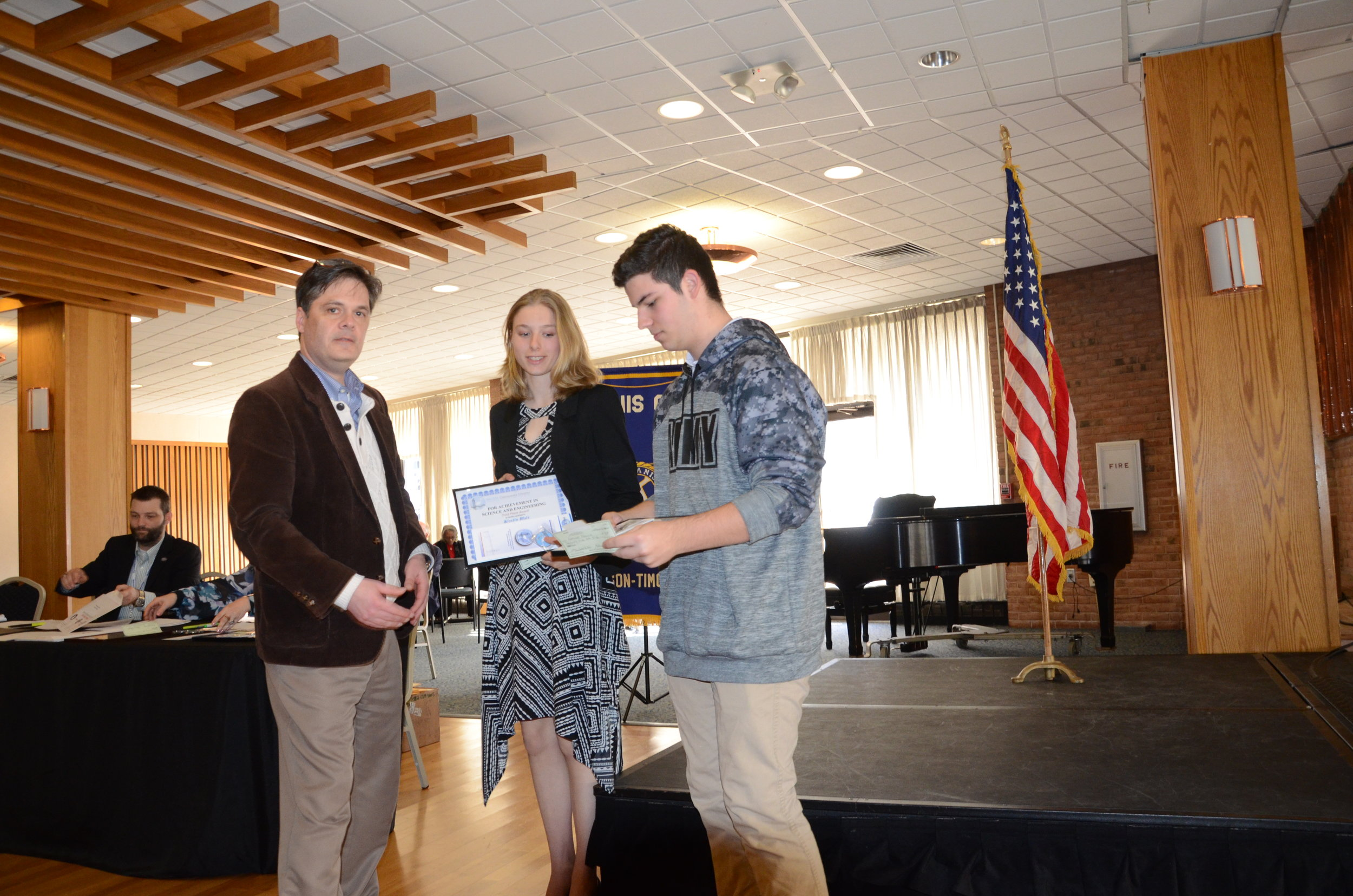 3rd Place, Kirstin Walz & Nathan Duciuk: Spill Resistant Lid for Disposable Coffee Cups