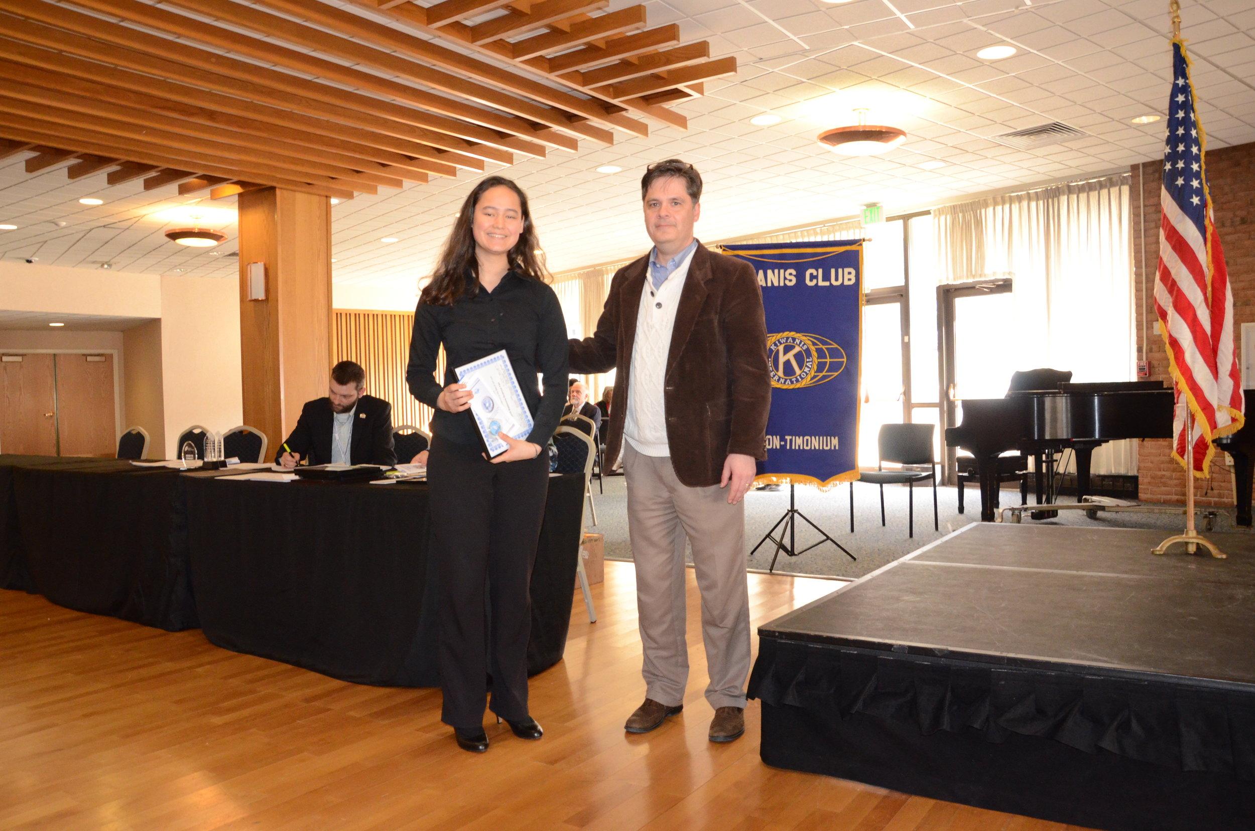 Honorary Award Nicole Meister Improving Robustness of X-ray Synchroton Image Analysis Using Deep Learning and Data Augmentation.