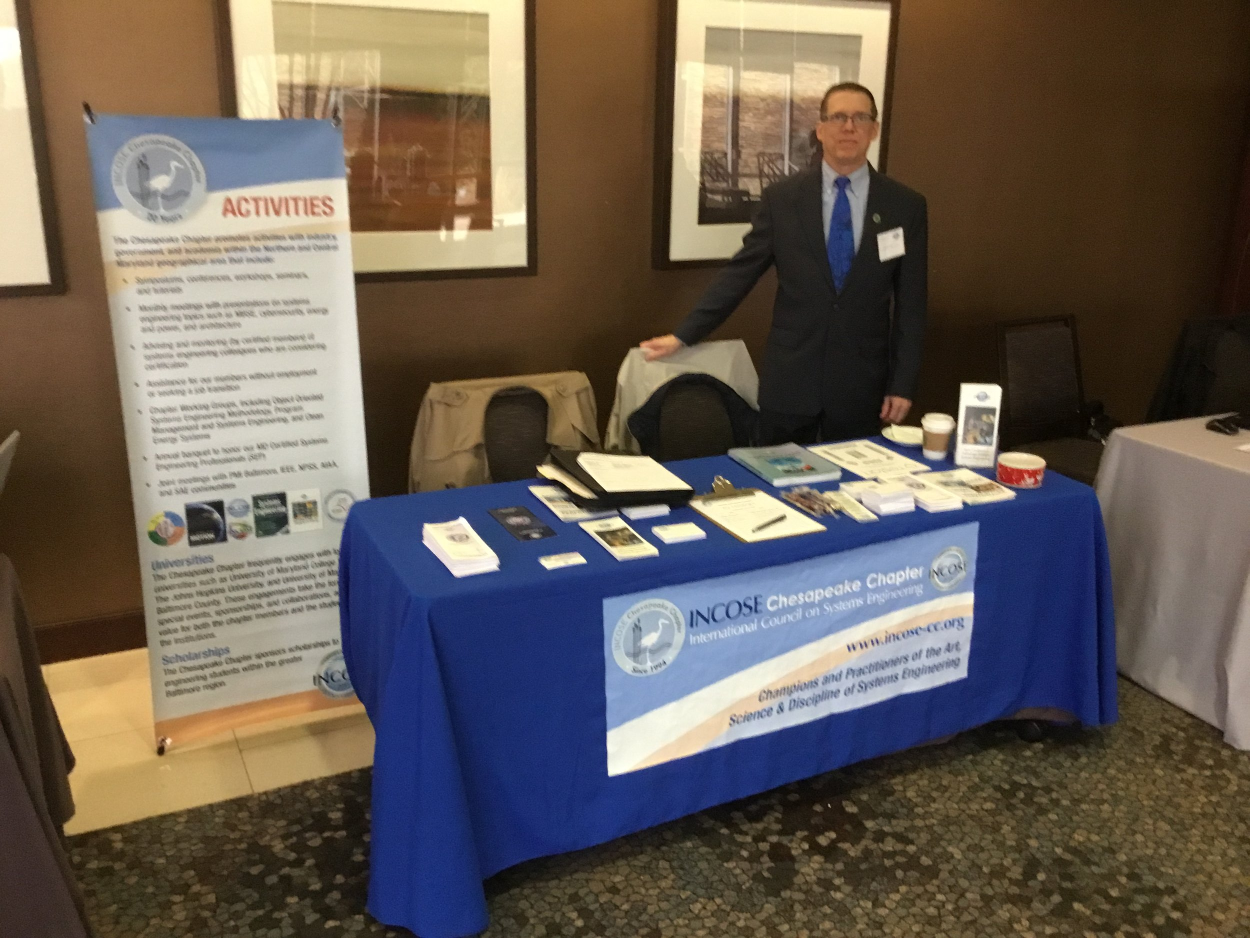 Mark Kaczmarek at the January 29, 2018 reStart job fair