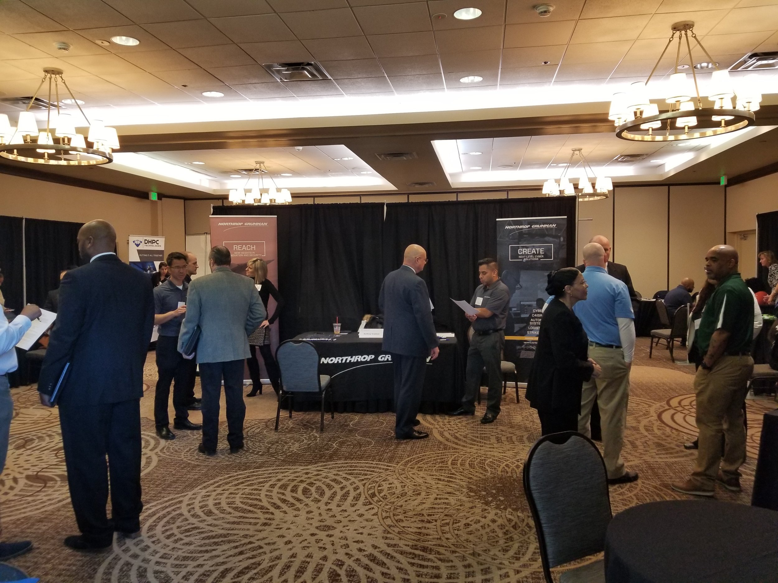 Vendor Gallery at the March 26, 2018 reStart job fair