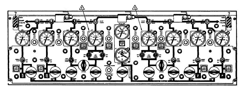 Figure 2 The Flight Engineers Fuel Panel