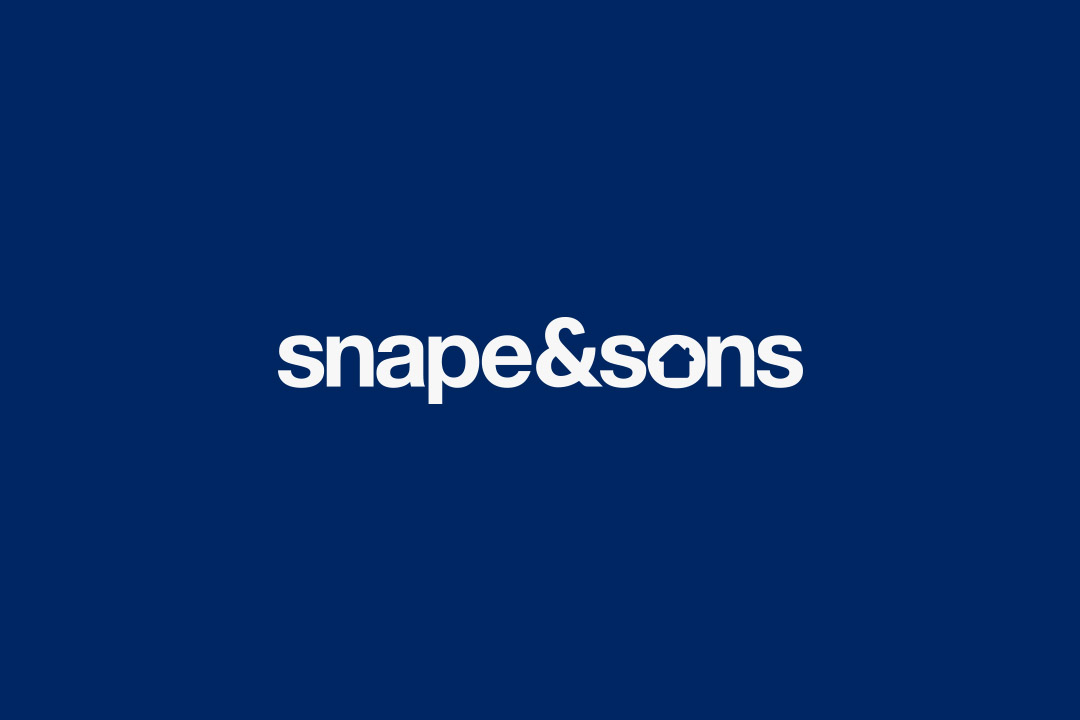 Snape & Sons  -  Naming | Branding | Graphic Design