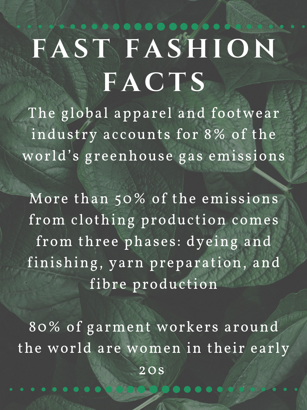 Fast Fashion Facts Infographic 1
