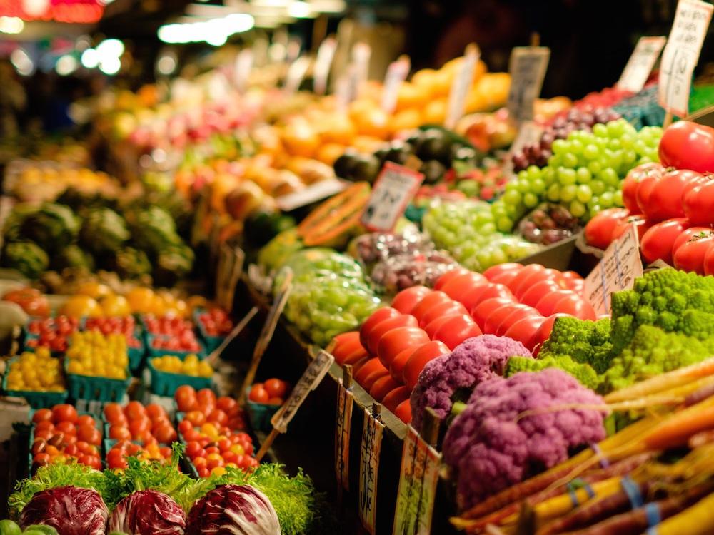 Jean Talon open air market montreal little italy