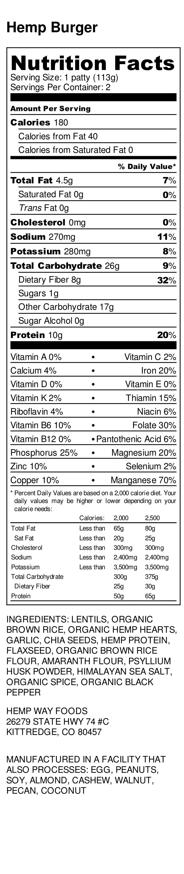 Hemp Burger - Nutrition Label (1).png