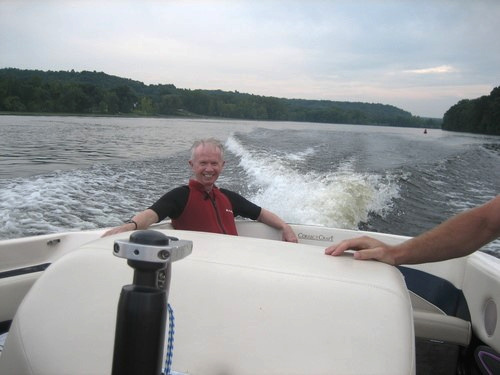 """MY DEAR FRIEND DICK """"ONE BAD ASS WATER SKIIER, SNOW SKIER"""" WHO TAUGHT ME AGE IS A JUST A NUMBER."""