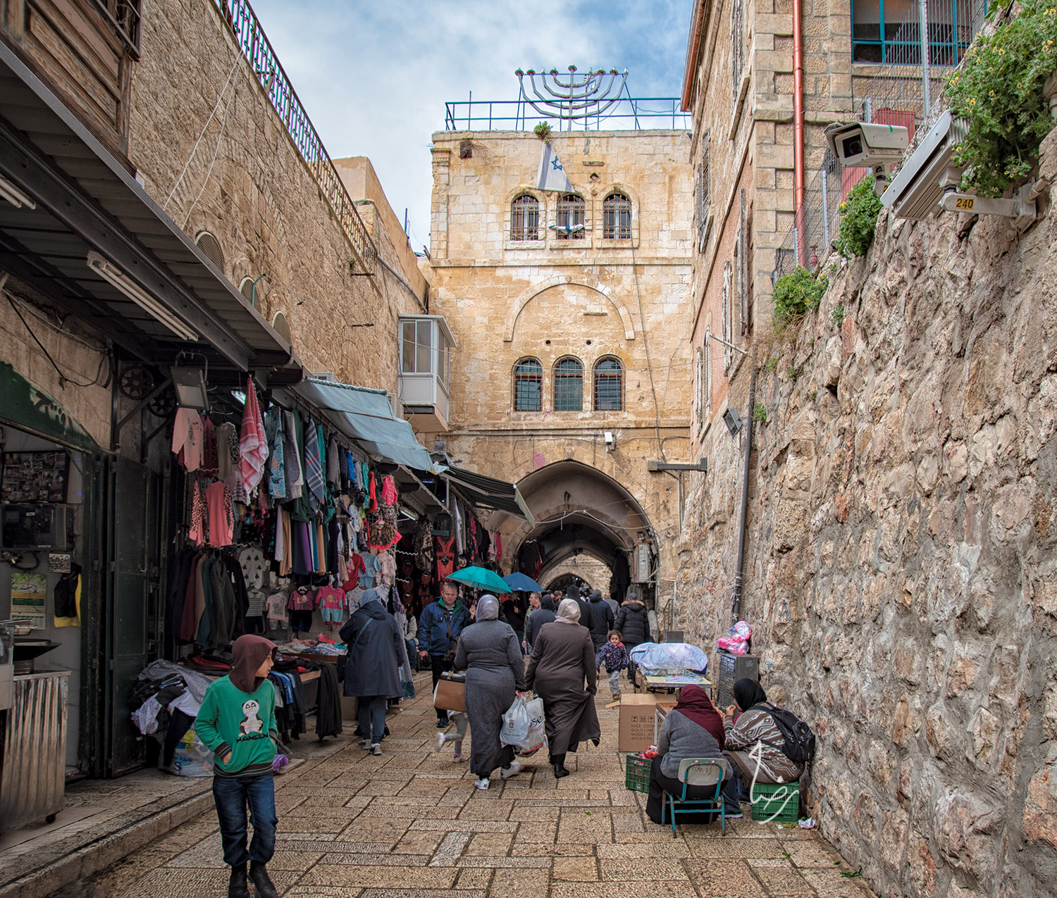 Settlers at Damascus Gate