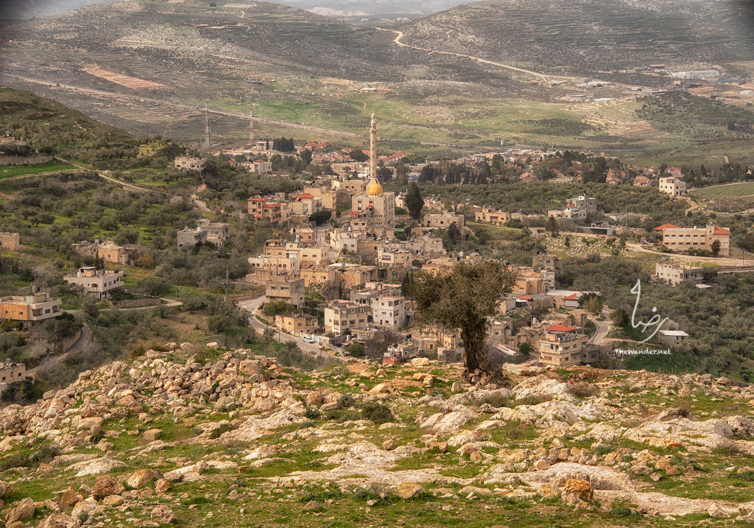 The village of Al-naqura