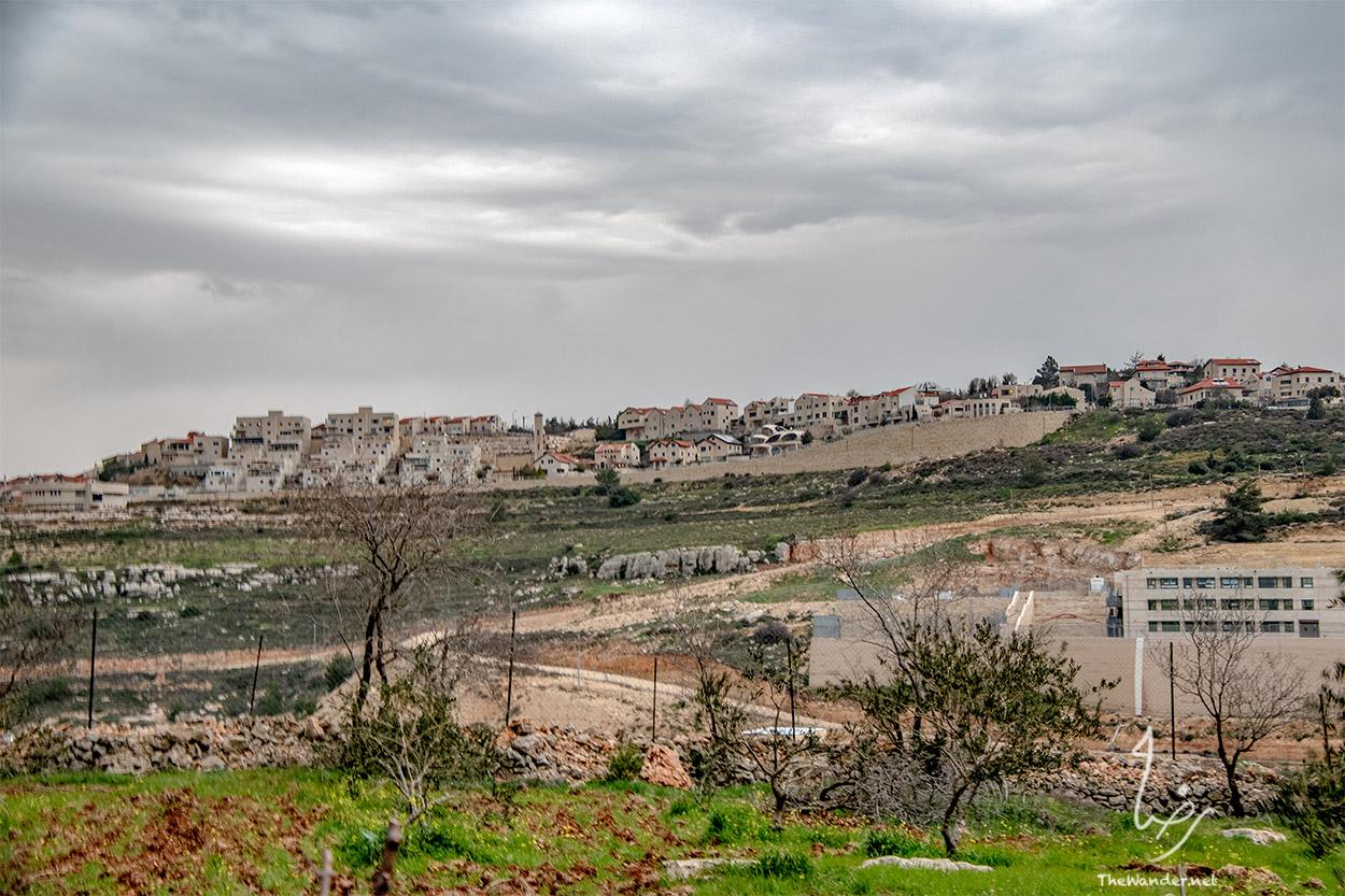 Settlements outside Bethlehem