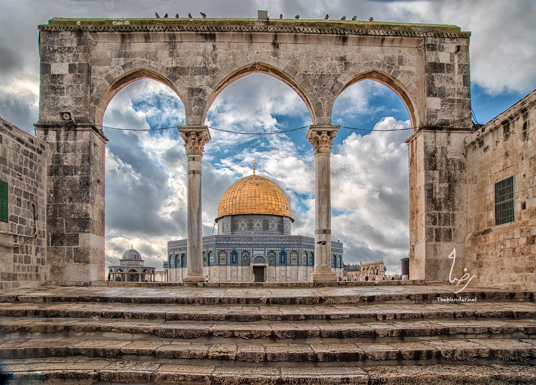 Dome of the Rock   , Jerusalem