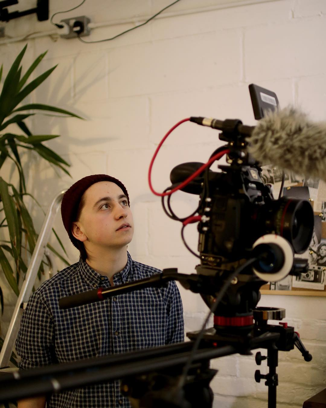 James Coy on the set of POSE. Camera pictured: C500.