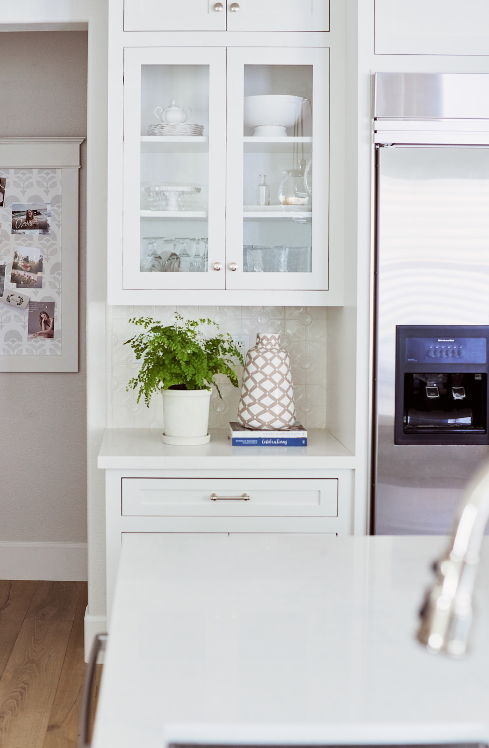 House By The Sea Glass Cabinets Kitchen Close Up.jpg