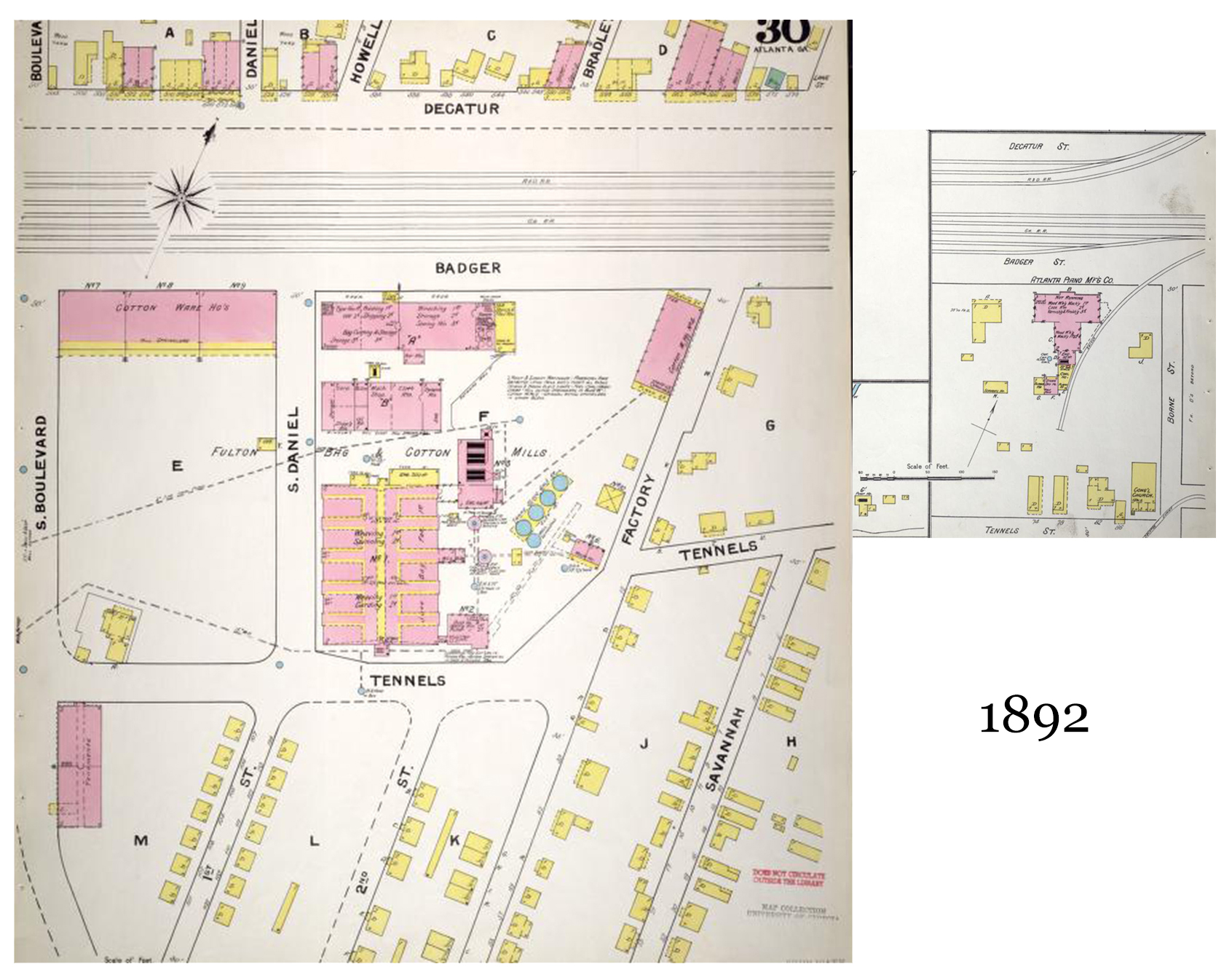 1892 Sanborn Fire Insurance Map