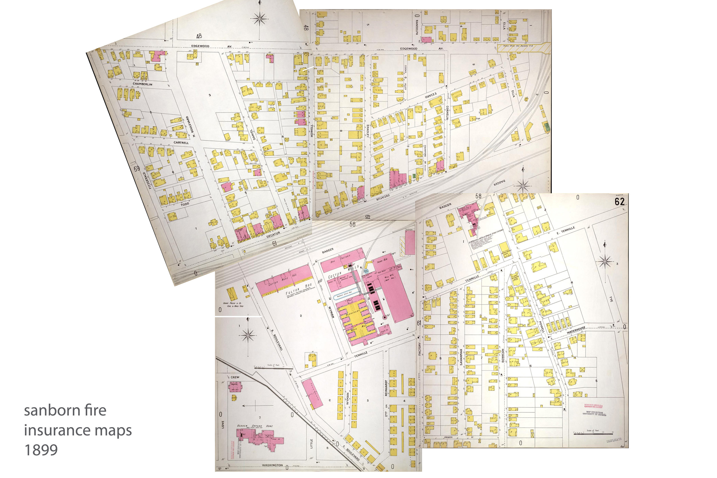 1899 Sanborn Fire Insurance Map