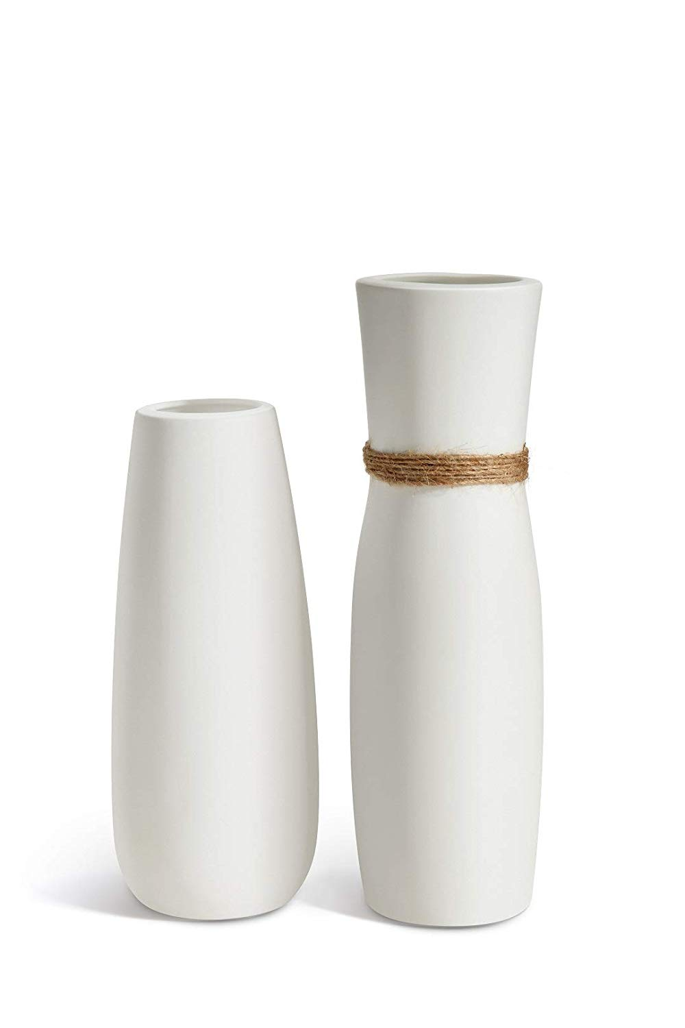 OPPS White Ceramic Vases
