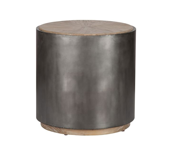 Brockton Metal End Table