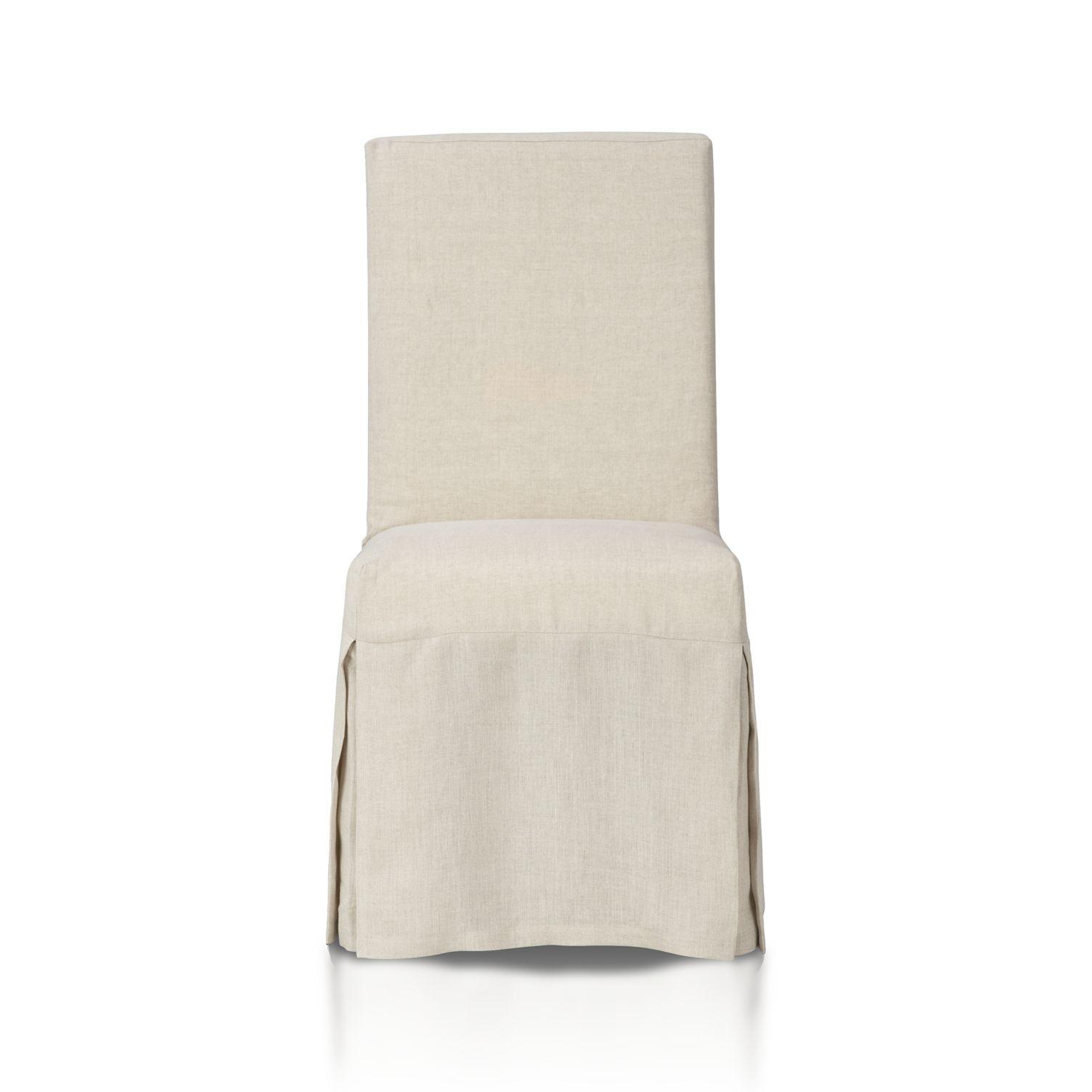 Slip Linen Dining Chair