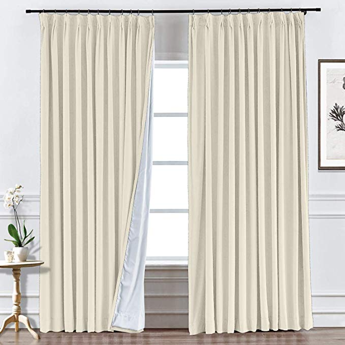 Ivory Velvet Curtains