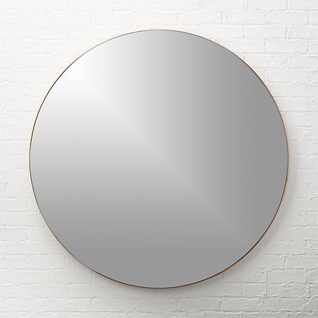 Infinity Brass Mirror