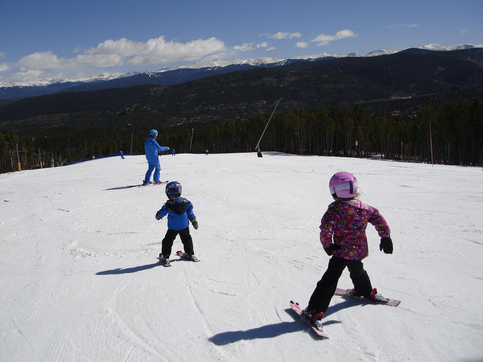 Family fun on the mountain!
