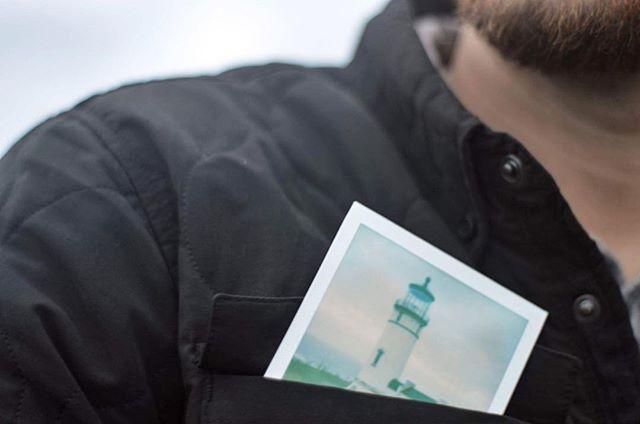 Pocket Polaroid.  #polaroids#pnwonderland#astoria#washingtonstate#capedisappointment#traveloregon#pnwphotographer#pnwlife#moodygrams