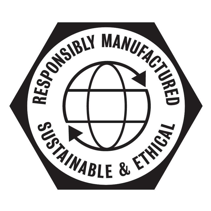 Responsibly Manufactured - This product was produced in a ISO14001 and SA8000 certified factory.ISO 14001 is the international standard that specifies requirements for an effective environmental management system.SA8000 is the international standard specifying socially acceptable practices in the workplace.