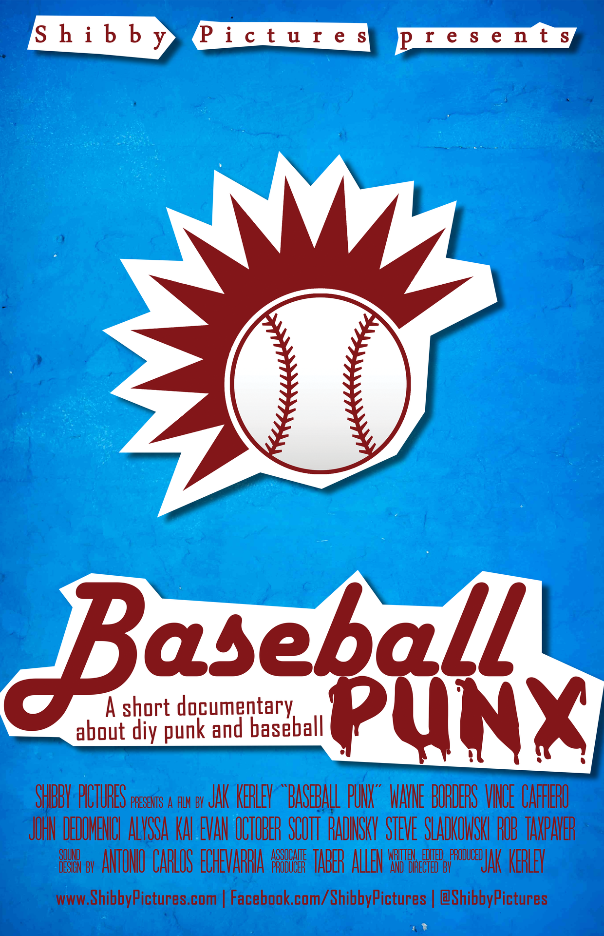 1 year ago I released Baseball Punx. It took two years to make, from writing to completion. A lot has changed since it came out, and I feel differently about a lot of things said in it. But I'm still very proud of myself for being able to successfully explain some of the things I feel about baseball in this context, because my love for baseball is a weird and complex thing.  Oh also, ESPN wrote an article about it which was pretty chill, check that out…    http://www.espn.com/blog/music/post/_/id/9026/first-look-baseball-punx-documentary