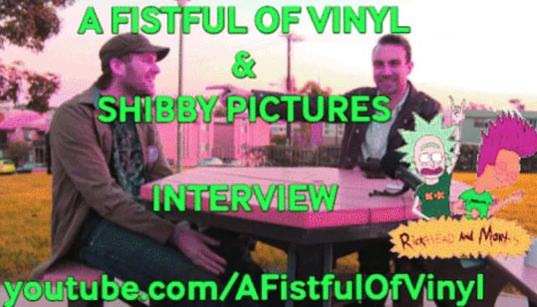 My buddy Alec from A Fistful of Vinyl had me on his show for an interview! Ya can see all 30+ minutes of it at youtube.com/afistfulofvinyl