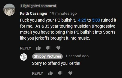 """I'm hoping I don't hurt anyone else's feelings with the documentary. If something in my documentary makes you uncomfortable, maybe I'm doing my job?? Also love the irony of him playing """"progressive"""" metal lol"""