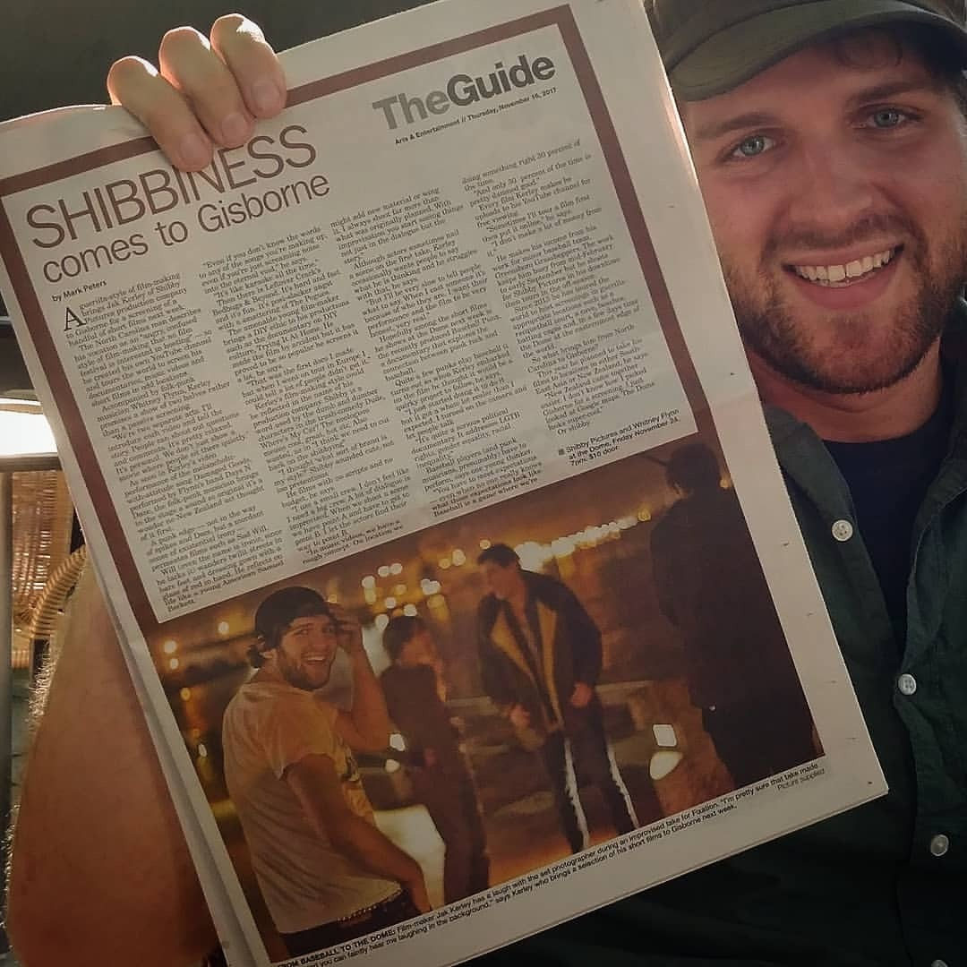 When you're front page of the arts section in another quadrant of the planet #famousAF