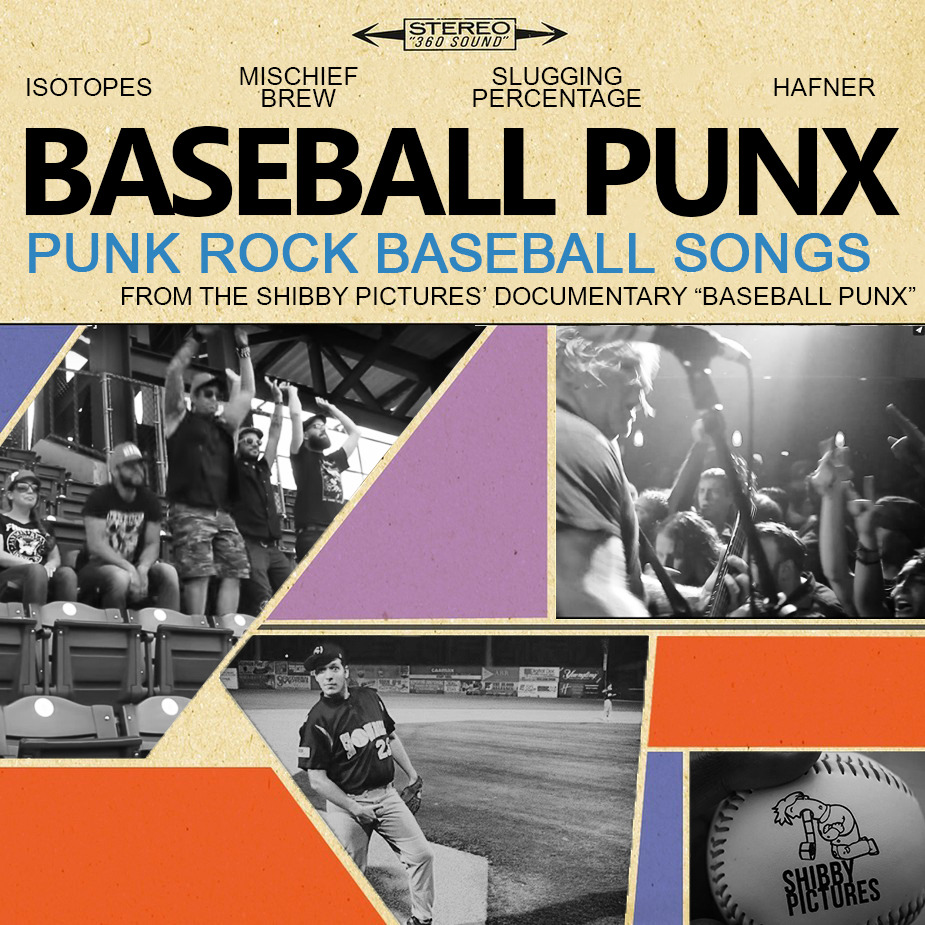 Before #BaseballPunx comes out, I'm going to be releasing a compilation album featuring a bunch of baseball themed punk songs as a bit of a set up for the context of the documentary. It will feature music both used in the documentary, and music that served as inspiration for it. it will include songs from The Isotopes, Mischief Brew, Slugging Percentage, Dakota Floyd, and a few more!