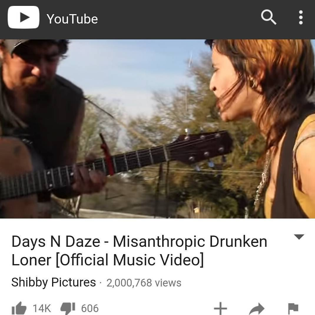 Pretty rowdy that 2,000,000 people have watched one of the first Shibby Pictures music videos, filmed over 3 years ago with the homies in Days n Daze. On to 3 million.