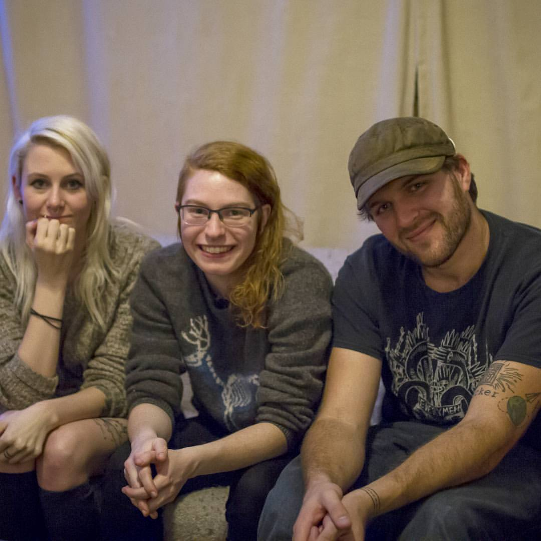 These are my wonderful friends in the band Stick and Poke! Not only are they the sweetest humans ever, but we filmed an amazing music video in Vancouver last week that we can't wait to share with you very soon!  (at Vancouver, British Columbia)
