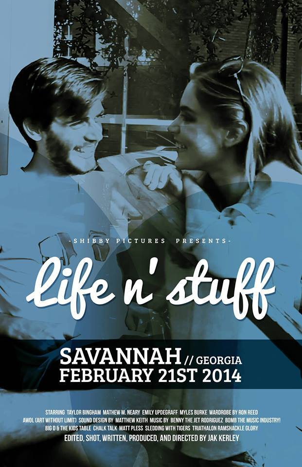 I'm screening the 3rd feature length film I made in Savannah this Friday night, gonna be sweet!