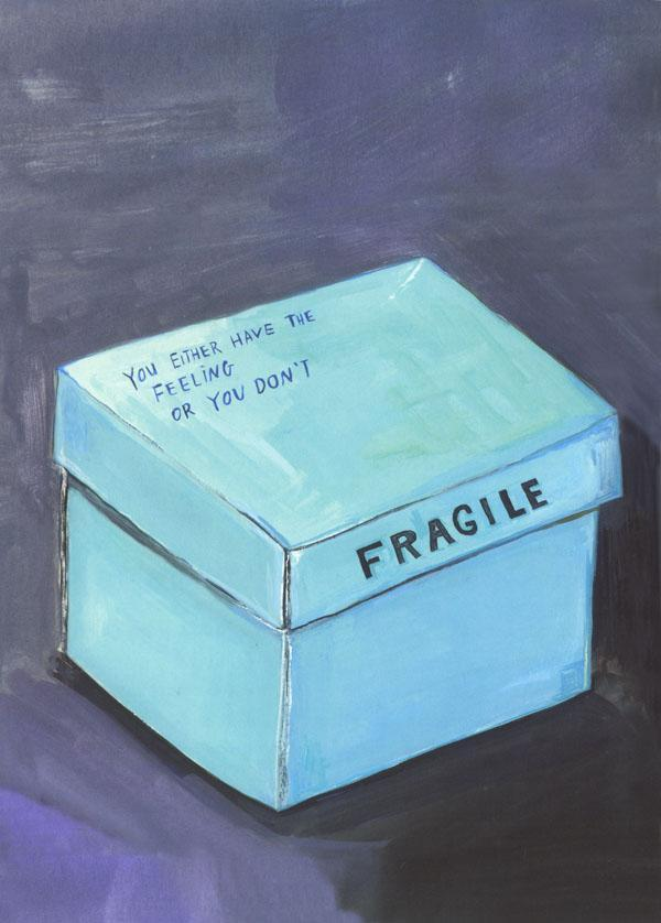 From  Why We Broke Up  by Daniel Handler & Maira Kalman