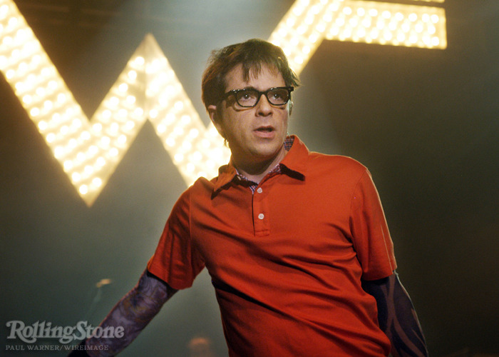 rollingstone :      So you asked a girl to a Green Day concert and she said she hadn't heard of them. Even down to details like that?   Yeah I mean, why would somebody make that up? Like where would they even get that from if that hadn't happened?   Happy 43rd birthday Rivers Cuomo!  Read our 2010 interview with the Weezer frontman where he opens up about the rough time in his life during the mid-1990s that inspired  Pinkerton .