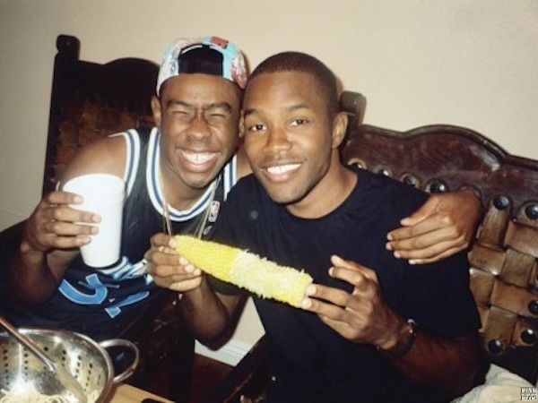 Rolling Stone: Did you know Frank Ocean was gay before he came out last year?    Tyler, the Creator: Yeah, I was one of the first people he told. I kinda knew, because he likes Pop Tarts without frosting on them, so I knew something was weird. But that's my nigga.