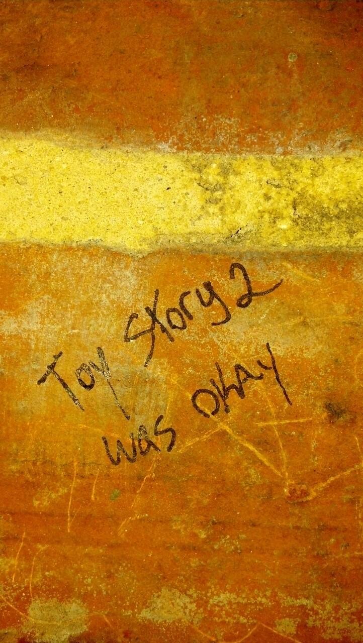 In the bathroom at Boundary Hall haha