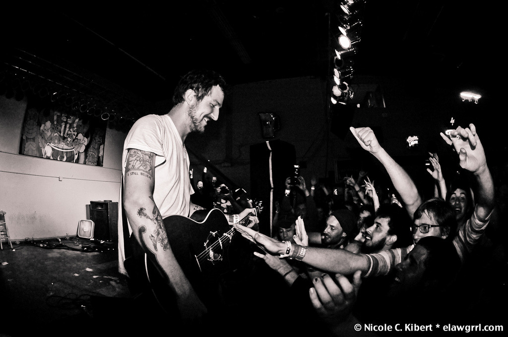 dearfrankturner :     I have openly gushed about my friend   Nicole Kibert 's  photos on here before and as you may have guessed - I'ma do it again. She hails from Florida so when Frank Turner played  Fest 11 last week, well, OF COURSE she was there doing what she does best. Nicole took a ton of great photos so be sure to peep them all on   her flickr   and if you were there see if you can find yourself in some of her crowd shots! - vg