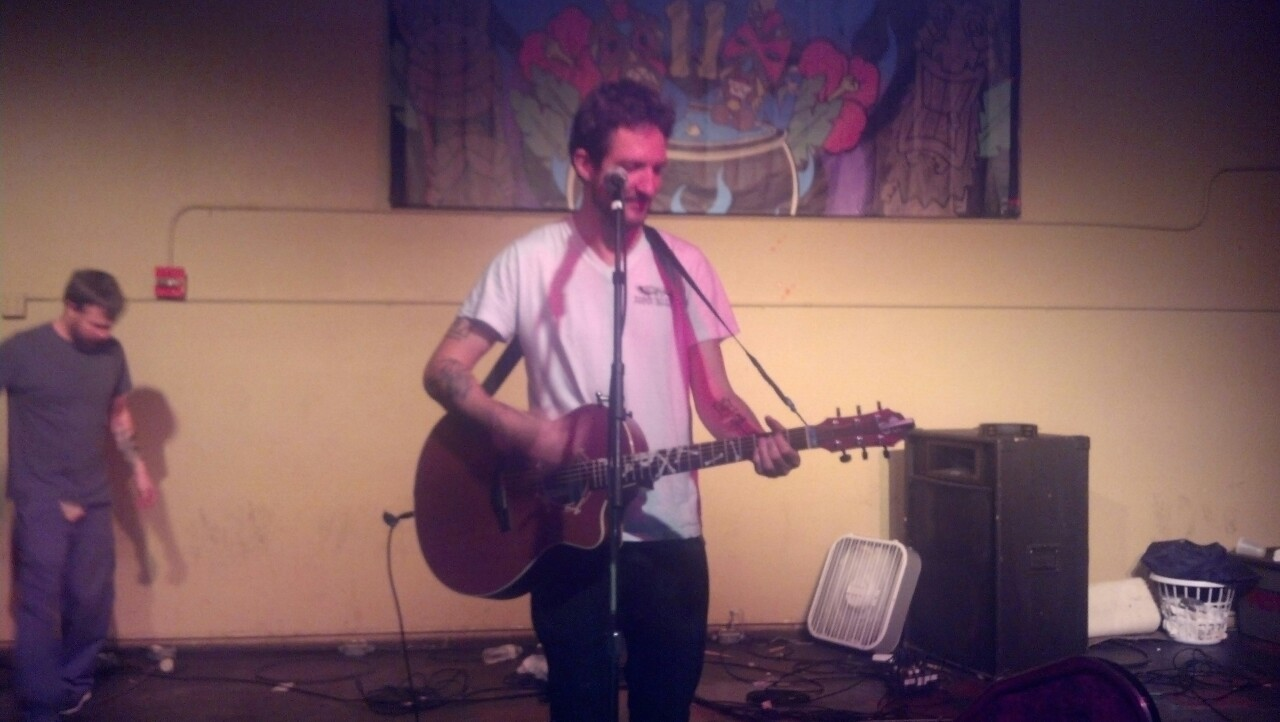 Frank Turner at The FEST 11   10/28/2012
