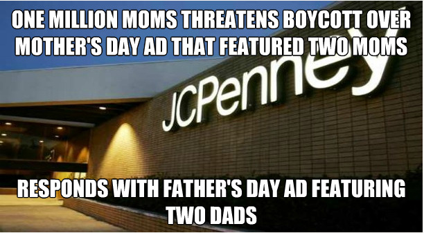 afragmentarypassage :      dawnavis :      swaggarthehorrible :      satancomeback :     BECAUSE FUCK YOU           I think I need to shop at JC Penney more. :)     and this is why I work for JCP we take shit from no one