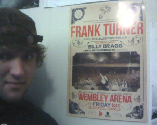 My Wembley poster finally came!