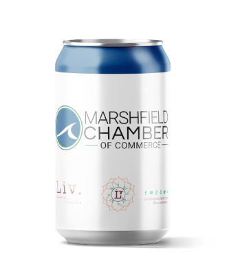 The Marshfield Chamber and Liv Creative Cuisine. Paired perfectly together! ps: Not a real drink.