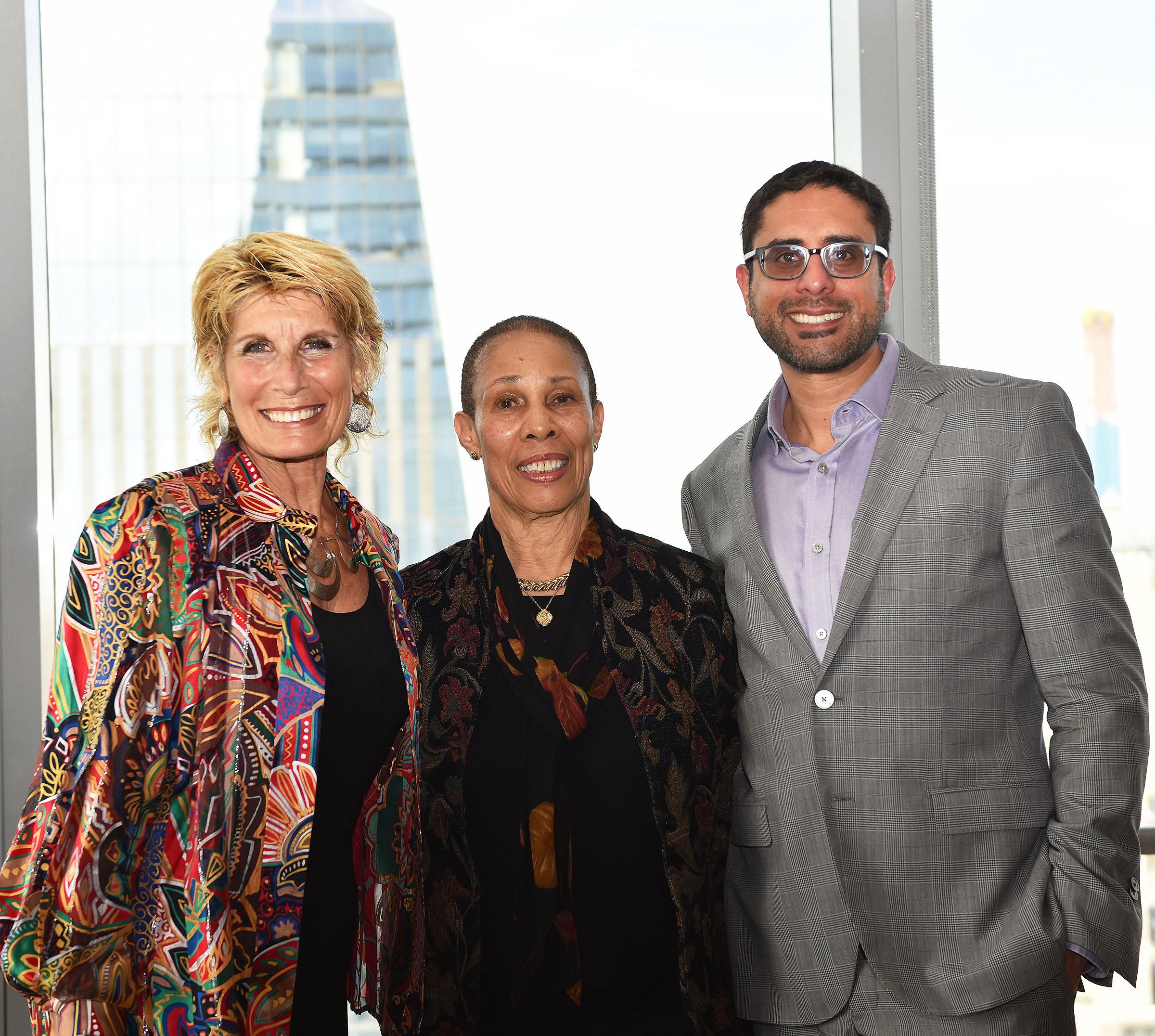 Bonnie Low-Kramen, Melba Duncan, and Al-Husein Madhany