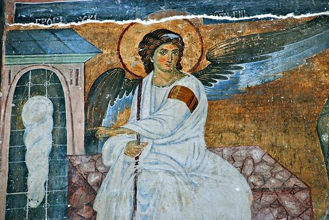 White Angel fresco is one of the most famous artworks from Serbia and is considered one of the best representations of European medieval religious art. During the discoveries of a satellite television signal in 1962, the White Angel fresco was sent as a message in the first satellite broadcast signal from Europe to America. Later, the same signal, containing the White Angel, was transmitted into outer-space in an attempt to communicate with extraterrestrial life forms.Today, you can find the White Angel fresco in monastery Mileseva, in the southwestern part of Serbia. . . . #serbfestatlanta #serbfestatl #serbfestatl