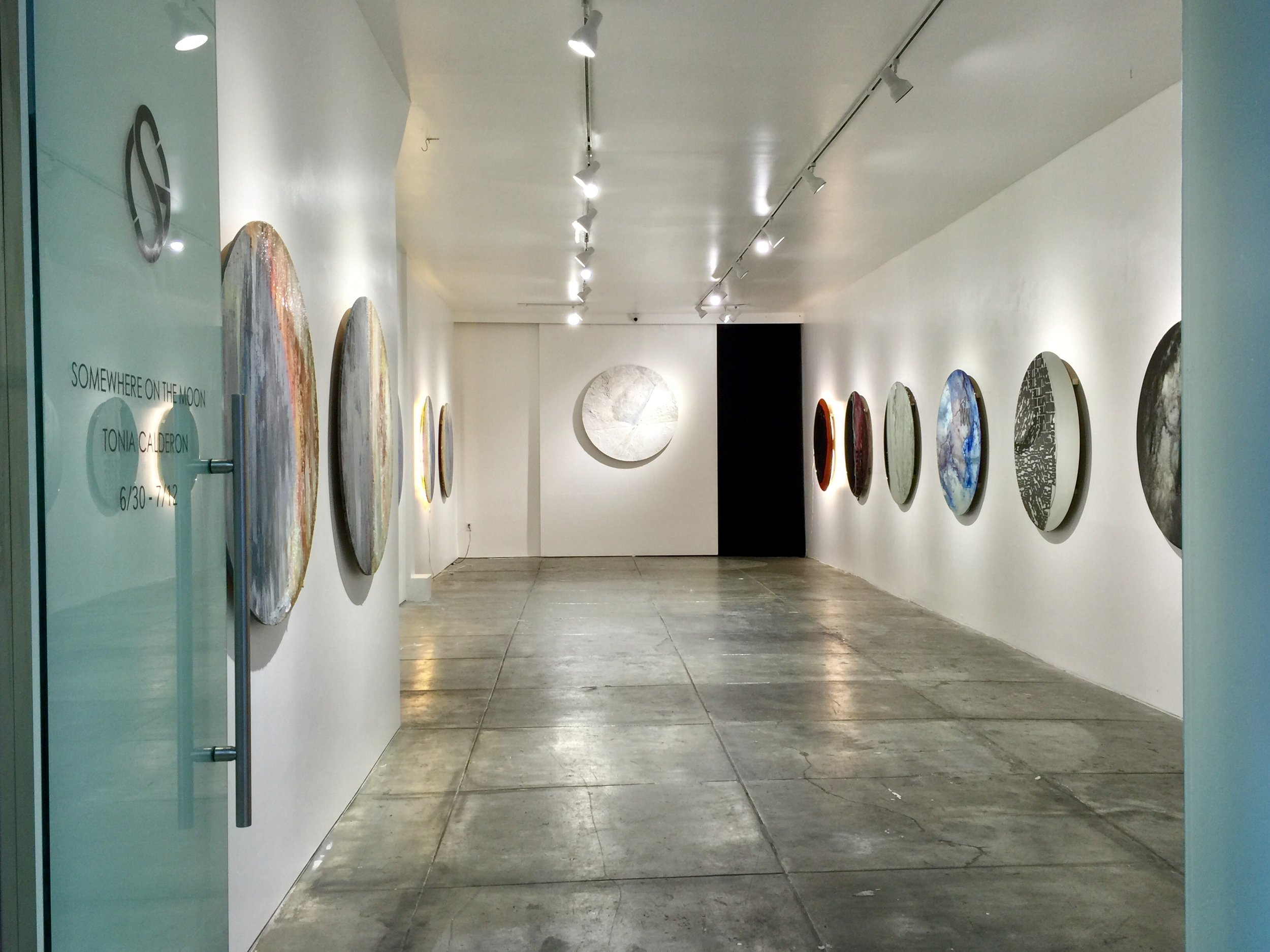 CALDERON SOLO EXHIBITION AT SOZE GALLERY, LOS ANGELES