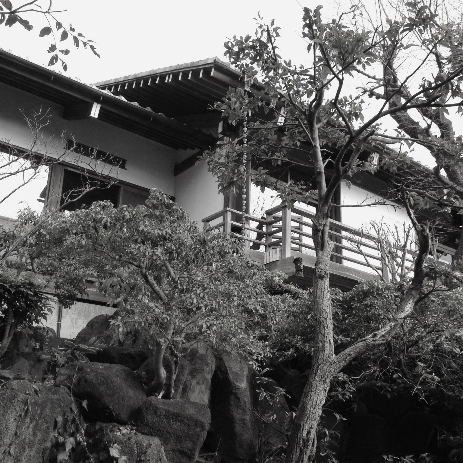 鎌倉山 太寿庵 - 戦後の近代和風建築と庭園を保存(鎌倉市鎌倉山 2012年)